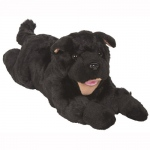 Sunny Toys Dog: Puppy, Black, Lying, 18""