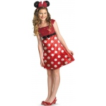 Disney Mickey Mouse Clubhouse Red Minnie Mouse Child / Tween Costume - 7/8