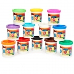 Color Dough Asst. (Stock): Multi-colored, Birthday