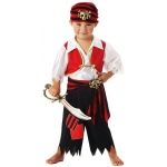 California Costumes Ahoy Matey! Pirate Toddler Costume Toddler (3-4)