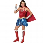 Rubie's Costumes Justice League DC Comics Wonder Woman Teen Costume Teen (Small)