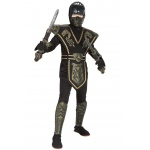 Ancient Dynasty Ninja: Black/Gold, Small, Everyday, Male, Child
