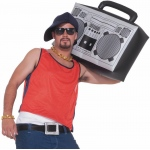 Forum Novelties Hip Hop Inflatable Boom Box One Size Fits Most Adults