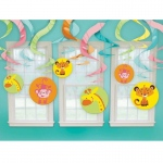 Amscan Fisher Price Baby Shower Hanging Swirl Decorations