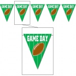Game Day Football - Pennant Banner: Birthday