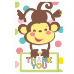 Fisher Price Baby Shower Thank-You Notes (8): Baby Shower