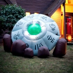Inflatable Crashed UFO: Halloween, Unisex, Adult