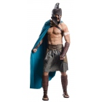 300: Rise Of An Empire DLX Themistocles Adult Costume: Blue/Brown, Standard One-Size, Everyday, Male, Adult