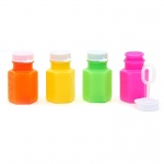 Bubble Bottles Assorted (24): Multi-colored, Birthday
