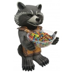 Rubie's Costumes Guardians of the Galaxy: Rocket Racoon Candy Bowl Holder