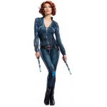 Avengers 2 - Age of Ultron: Avengers 2 - Age of Ultron: Secret Wishes Black Widow Adult Costume - Small
