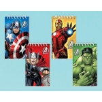 Amscan Avengers Assemble Notepads Assorted (12)