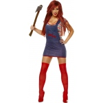 Sexy Chucky Adult Costume - Medium