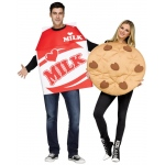 Fun World Cookies and Milk Adult Costume One-Size