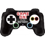 Game Controller Jumbo Foil Balloon: Multi-colored, Birthday