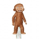 Curious George 3D Pull String Pinata: Multi-colored, Birthday