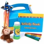 Birthday Express Curious George Filled Party Favor Box