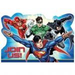 Amscan Justice League Invitations (8)