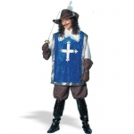 Franco American Novelty Musketeer W/Hat Deluxe Adult Costume Standard One-Size