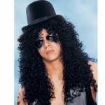 Franco American Novelty Deluxe Curly Rocker - Black One Size