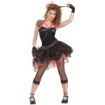80's Diva Adult Costume: Black, One-Size, Everyday, Female, Adult