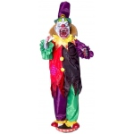 Walking Clown With Teeth Animated Prop: Halloween, Unisex, Adult