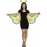 Fun World Soft Bumble Bee Wings One-Size