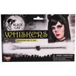 Forum Novelties Black Cat Whiskers - Adult One Size
