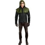 Rubie's Costumes Green Arrow Deluxe Teen Costume One-Size