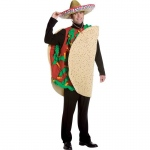 Adult Unisex Taco Costume - One-Size: One-Size, Everyday, Adult