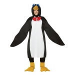 Adult Lightweight Penguin Costume - One-Size: One-Size, Everyday, Adult