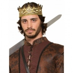 Forum Novelties Medieval Fantasy Kings Crown One-Size