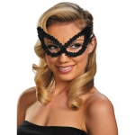 Disguise Sequin Eye Mask Black