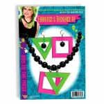 Forum Novelties 80s Neon Earrings And Necklace Set