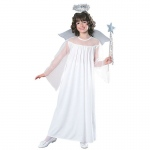 Angel Child Costume M: Medium, Everyday, Child
