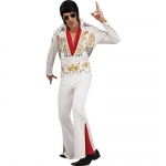 Adult Deluxe Elvis Costume: MEDIUM, Everyday, Adult