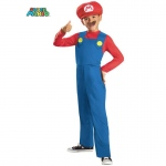 Child Super Mario Bros Mario Costume - SMALL