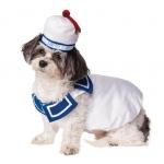 Ghostbusters Stay Puft Pet Costume - Small