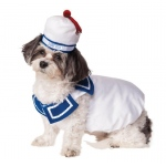 Ghostbusters Stay Puft Pet Costume - Medium