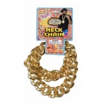 Forum Novelties Gold Big Link Neck Chain One-Size