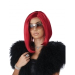 California Costumes Da Boss Adult Wig- Red One-Size