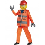 Disguise Construction Worker Deluxe Child Costume Small
