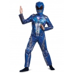 Blue Ranger Movie 2017 Classic Child Costume - Small