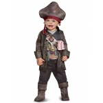 Captain Jack Classic Toddler Costume - 3-4T