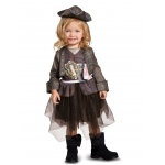 Disguise Captain Jack Inspired Tutu Classic Toddler Costume 3-4T