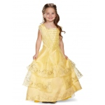 Belle Ball Gown Prestige Child Costume - Small