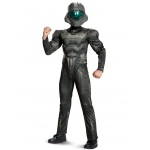 Disguise Spartan Buck Classic Muscle Teen Costume