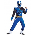 Disguise Blue Ranger Ninja Steel Muscle Child Costume Medium