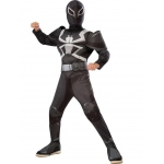 Agent Venom Muscle Chest Deluxe Child Costume M: Medium, Everyday, Child