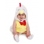 Baby Rooster Chicken Infant Costume - 0-6M